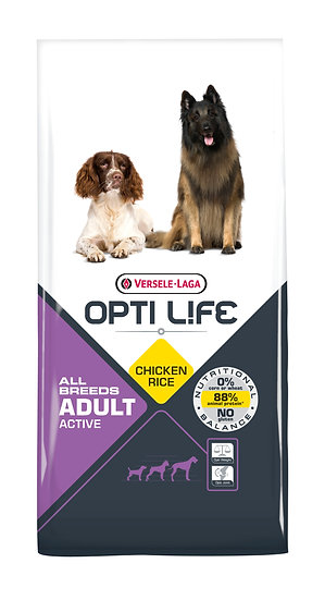 OPTILIFE  - Adult Active - Chicken & Rice