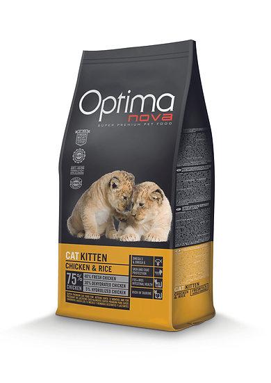 Optimanova - Kitten Chicken & Rice