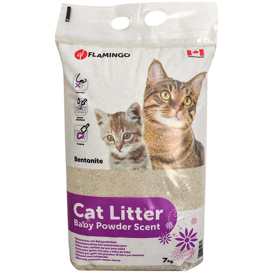 Cat Litter Baby Powder Scent (7kg)