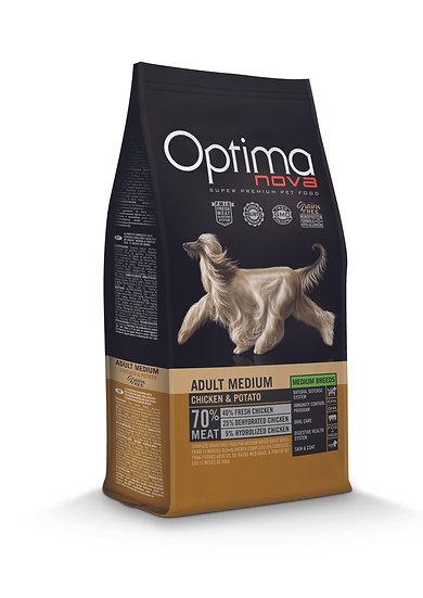 Optimanova - Adult Medium - Chicken & Potato