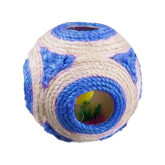 Rattle & Catnip Ball