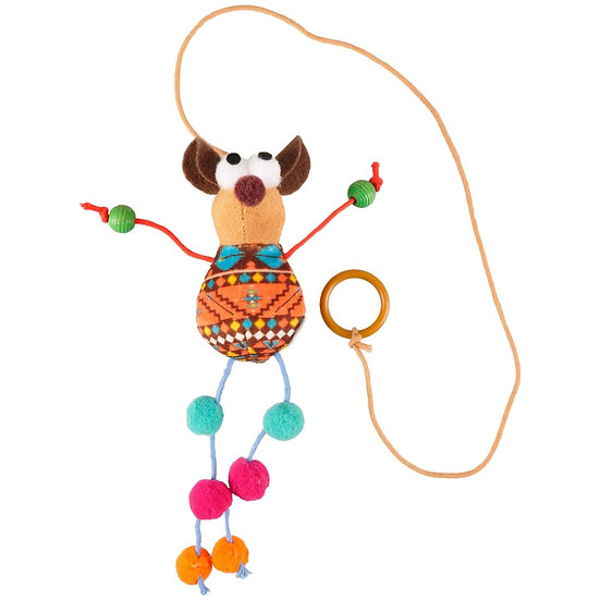Indy Mouse with Beads