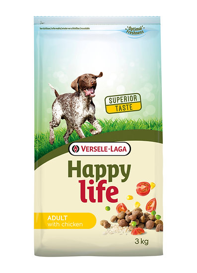 Happy Life Adult with Chicken
