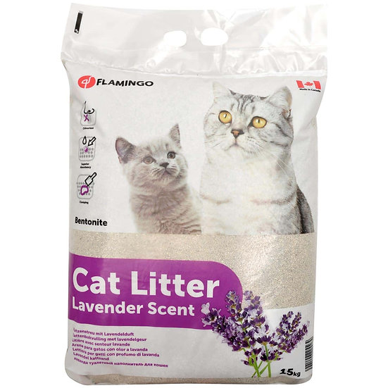 Cat Litter - Lavender Scent (15kg)