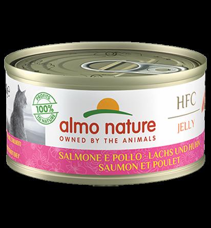 Jelly Salmon & Chicken (70g)