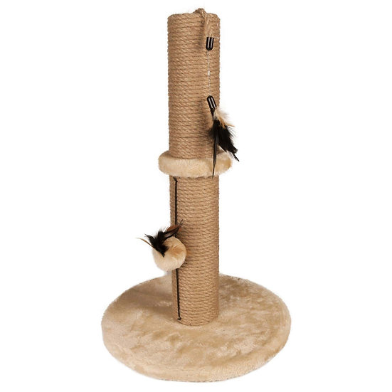 Scratch Pole with Toys