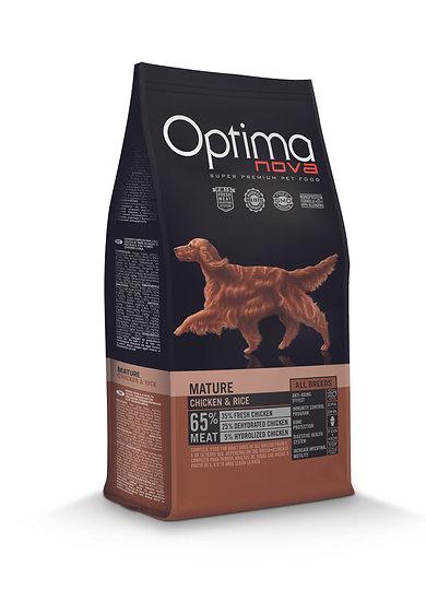 Optimanova - Mature - Chicken & Rice