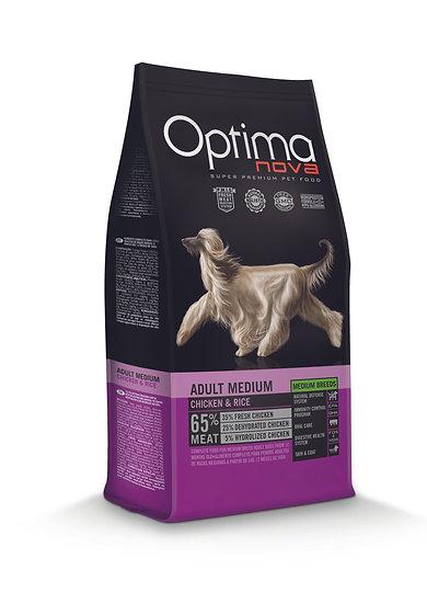 Optimanova - Adult Medium - Chicken & Rice