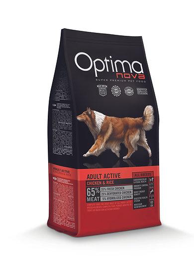 Optimanova - Adult Active - Chicken & Rice