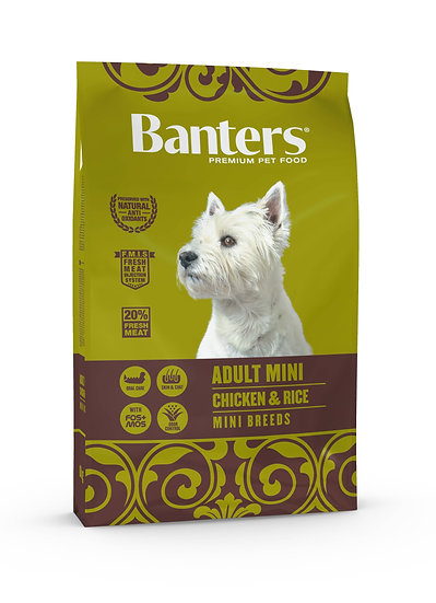 Banters Adult Mini - Chicken & Rice
