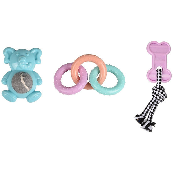 Puppy Toy Set (3 items)