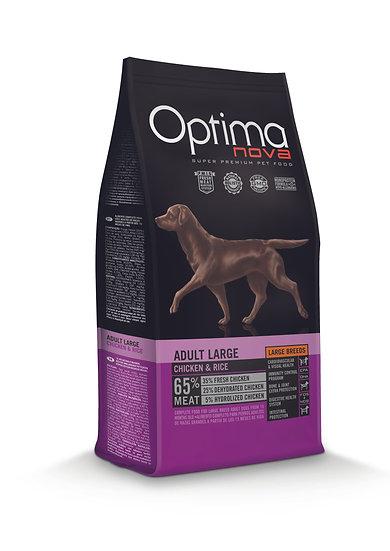 Optimanova - Adult Large - Chicken & Rice