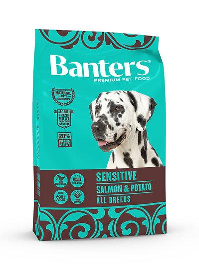 Banters Sensitive - Salmon & Potato