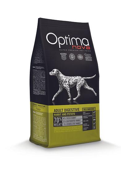 Optimanova - Adult Digestive - Rabbit & Potato