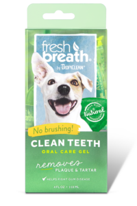 Tropiclean Fresh Breath - Natural (Oral Care Gel for Dogs)