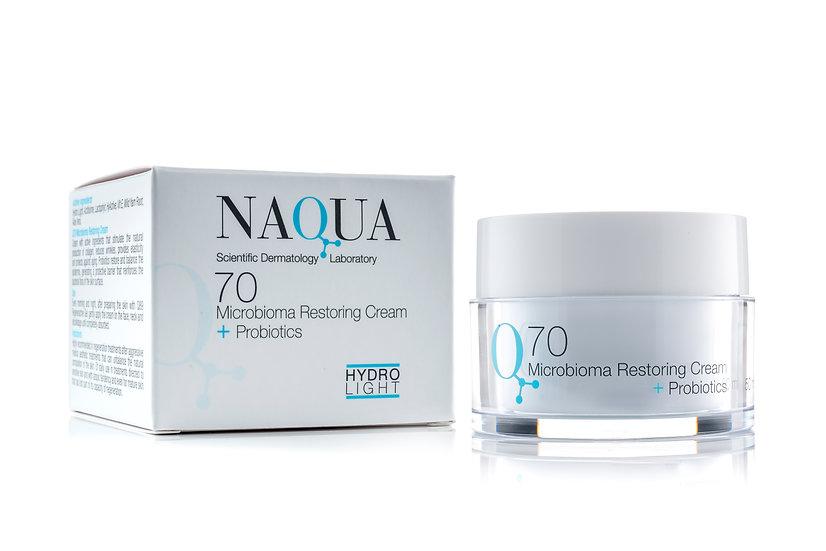 Q70 Microbiome Restoration Cream + Probiotics