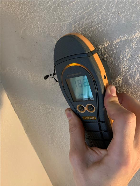 Radio-Wave Moisture-Detection