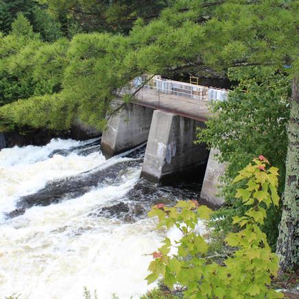 Dam at Kettle Falls