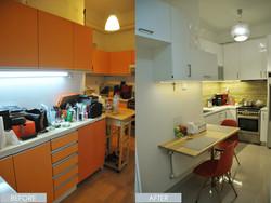 A 1960s kitchen gets a modern update