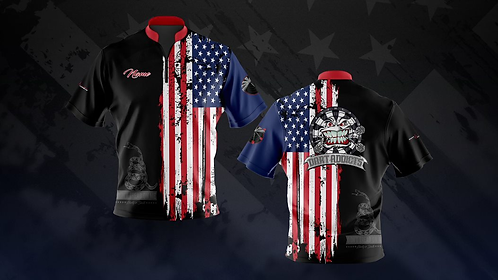 """""""The Patriot"""" Jersey (NO NAME)"""