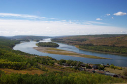 Beautiful Peace River Valley