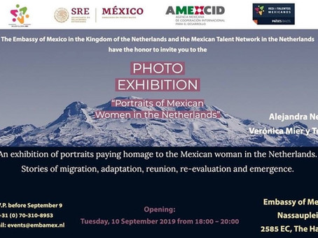 """Inauguración de la Exposición """"Retratos de Mujeres Mexicanas en Países Bajos"""""""