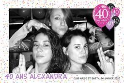Birthday Alexandra