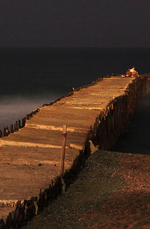 photo of a pier