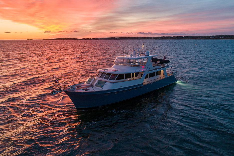 70' Halcyon Seas_Nantucket_Sunrise-Sunse