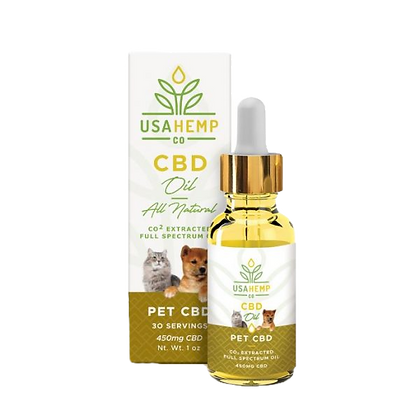 Pet CBD Oil - 450MG CBD (USA Hemp Co.)