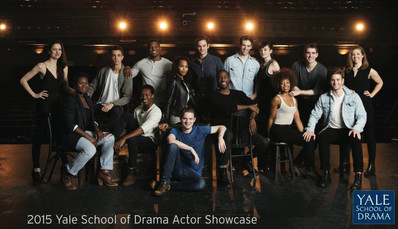 Yale School of Drama Actor Showcase Class of 2015