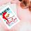 Thumbnail: Sanitised Santa, Christmas 2020  Retro Art Print, poster illustration A5 - A3