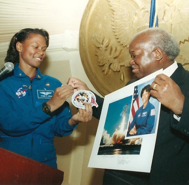 Owens supports NASA and science education in Brooklyn.