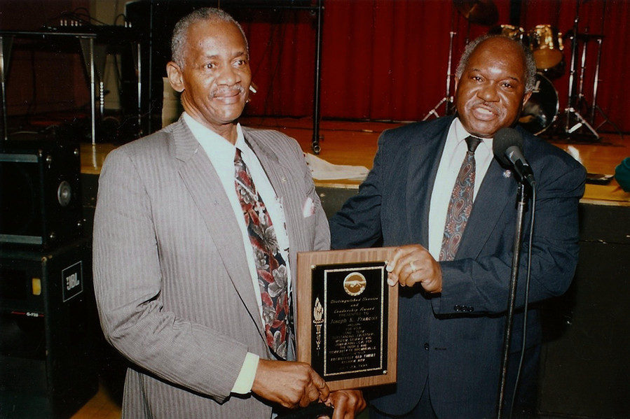 Brownsville leader Joe Francois is honored by Owens