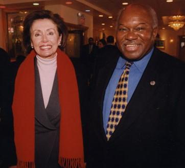 Congressman Owens and House Speaker Nancy Pelosi