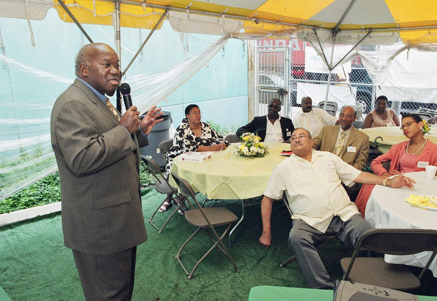 Owens addresses West Indian Day Parade Breakfast