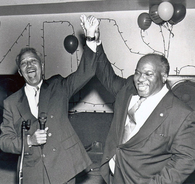 Congressman Owens & Hon. David N. Dinkins