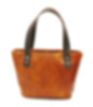Hand painted Hand-dyed Hand-stained Handbags veg tanned