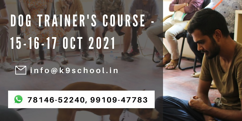Dog Trainer's Course - Batch 16th
