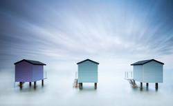 Steve Stringer CPAGB - Beach Huts, Maldon