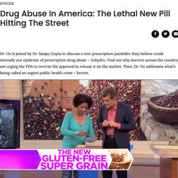THE DR. OZ SHOW | Drug Abuse in America