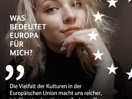 Deutsche Botschaften posten Zitate aus Essay-Wettbewerb