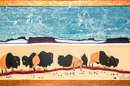 Justin Tso Native American Painting