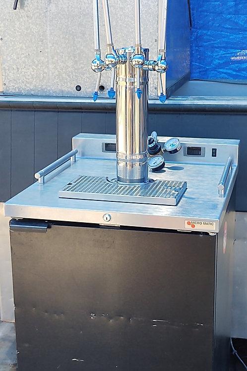 Micro Matic MDD23W dual zone wine dispenser