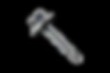 tornillo autoperforante con arandela de neoprene
