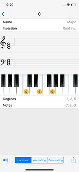 Chords and Scales iPhone and iPad