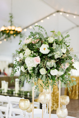 Organic and Whimsical Reserved Table