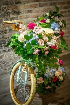 Bike Flower Installation
