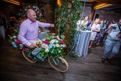 Flower Embellished Bike