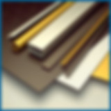 Color Anodized Aluminum Sheets, Black, Gold, Silver